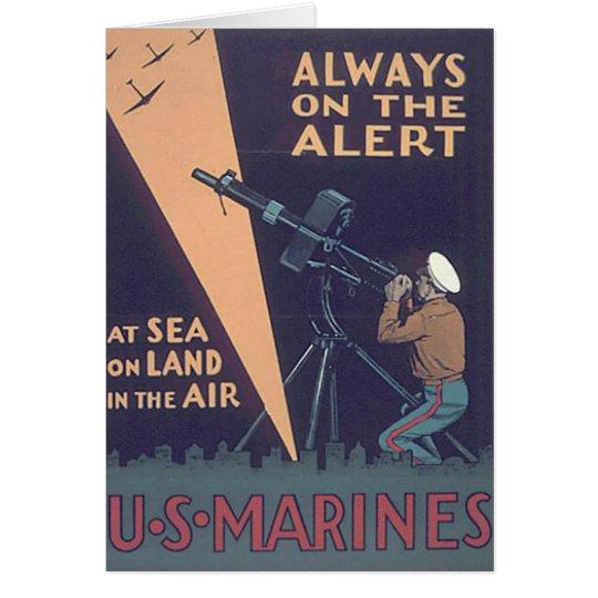 WW2 USMC 18 CARD