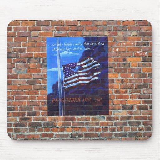 WW2 Wartime Propaganda Poster Mousepad