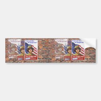 WW2 Wartime Propaganda Posters Bumper Stickers