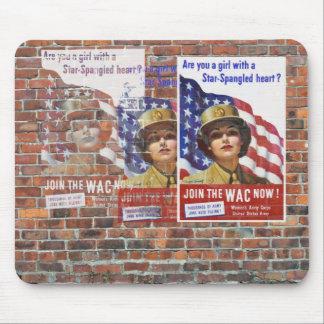WW2 Wartime Propaganda Posters Mouse Pads