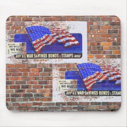 WW2 Wartime Propaganda Posters Mousepad