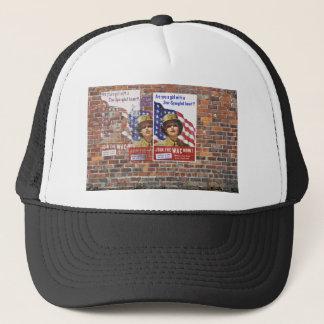 WW2 Wartime Propaganda Posters Trucker Hat