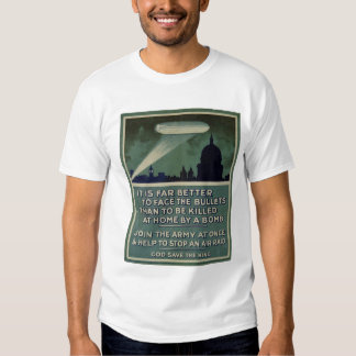 WW 1 Patriotic Poster T-shirt