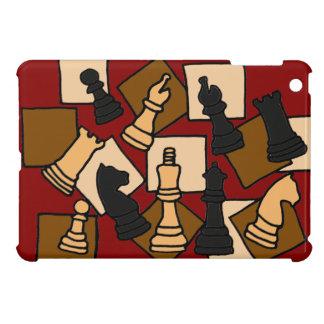 WW- Chess Game Pieces Art iPad Mini Case
