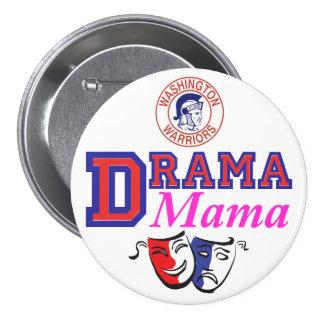WW Drama Mama 7.5 Cm Round Badge