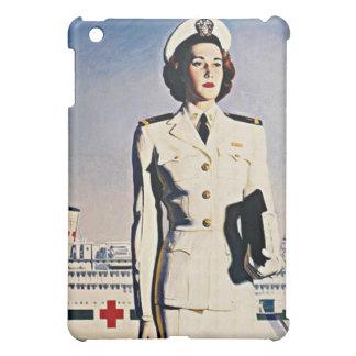 WW ll Navy Nurse Recruiting poster Speck iPad Case