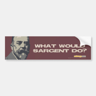WW Sargent Do? Bumper Sticker