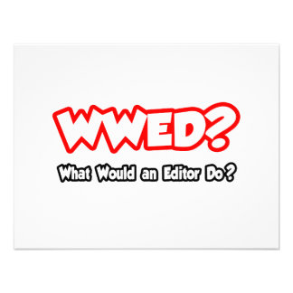 WWED What Would an Editor Do Invites