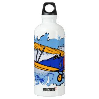WWI Bi-Plane Liberty Bottle SIGG Traveller 0.6L Water Bottle