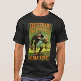 WWI Enlistment Ad T- Shirt