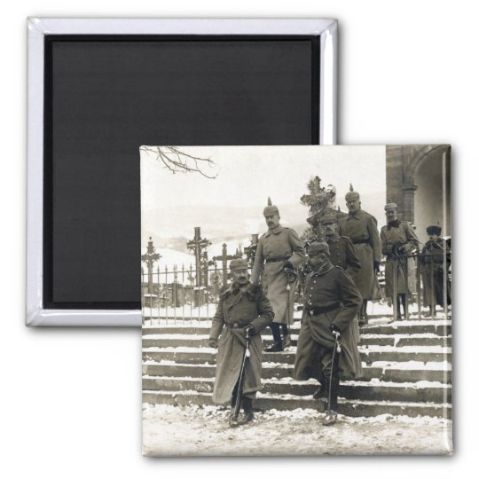 WWI German High Command Square Magnet