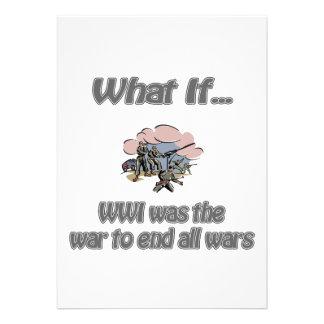 WWI CUSTOM ANNOUNCEMENTS