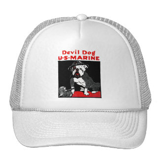 WWI Marine Corps Devil Dog Cap