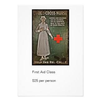 WWI Nurse Raising Funds Custom Invites