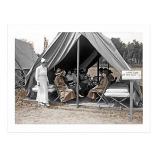 WWI Nurse Trainees Postcards
