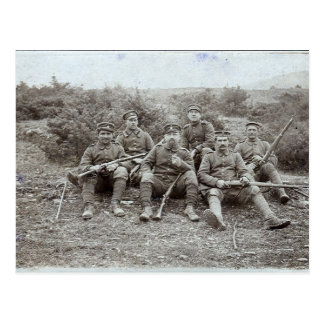 WWI Soldiers Postcard