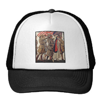 WWI Women Nursing Recruiters Trucker Hat