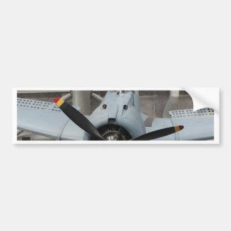 WWII Airplane 3 Bumper Stickers