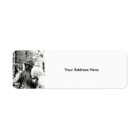 WWII American Soldier in Bastogne