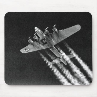 WWII B-17 in flight Mouse Pad