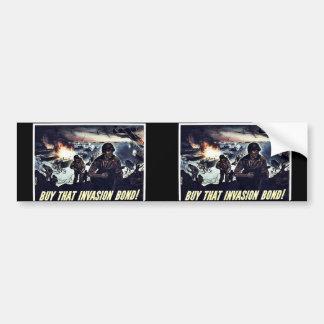 Wwii Bonds18 Bumper Stickers