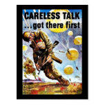 Wwii Careless1 Post Card