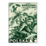 WWII Defenders of Warsaw Postcard
