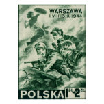 WWII Defenders of Warsaw Poster