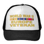 WWII Europe Veteran Cap