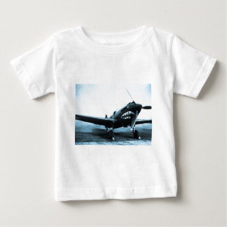 WWII Flying Tigers Curtiss P-40 Fighter Plane Baby T-Shirt
