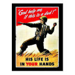 Wwii In Your Hands Postcard
