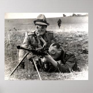 WWII Italian Soldiers Print