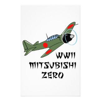 WWII Japanese Warbird Personalised Stationery