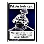 Wwii Joe Louis Postcards