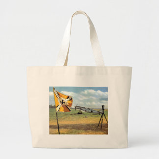 WWII Luftwaffe Airbase + German ME-109 Canvas Bags