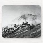 WWII Marines on Iwo Jima Beachhead Mouse Pad