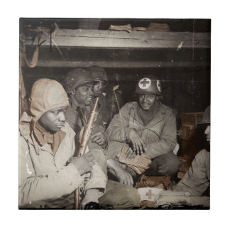 WWII Medics Waiting Tile