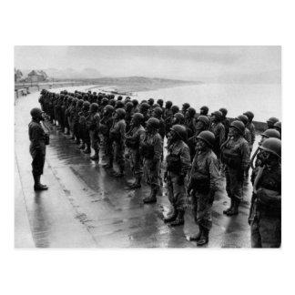 WWII Nurses in Gas Masks Postcards