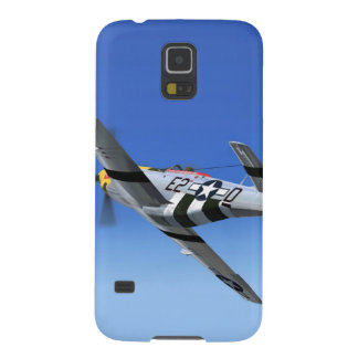 WWII P51 Mustang Fighter Plane Galaxy S5 Cover