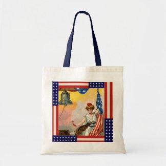 WWII Patriotic Poster Bag