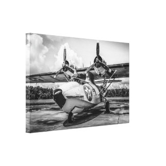 WWII PBY5A Catalina Amphibious Recon Plane Canvas Print