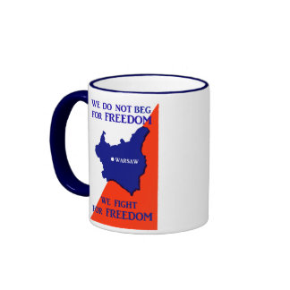 WWII Poland Fights for Freedom Mugs