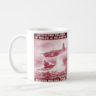 WWII Polish Air Force Basic White Mug