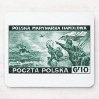 WWII Polish Merchant Navy Mouse Mat