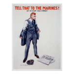 WWII Recruiting Poster Tell That To The Marines!