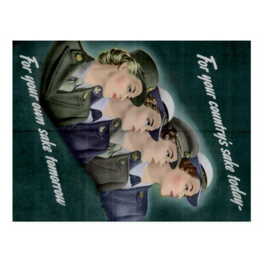WWII Recruitment Postcard