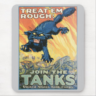 WWII Tanks Corps Mousepad