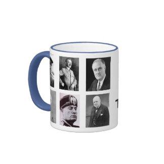 WWII, The Evil Side Ringer Mug