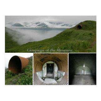 WWII Underground Bunker at Fort Swatzka Postcard