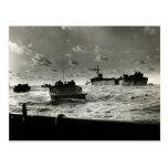 WWII US Marines assault Iwo Jima Post Cards